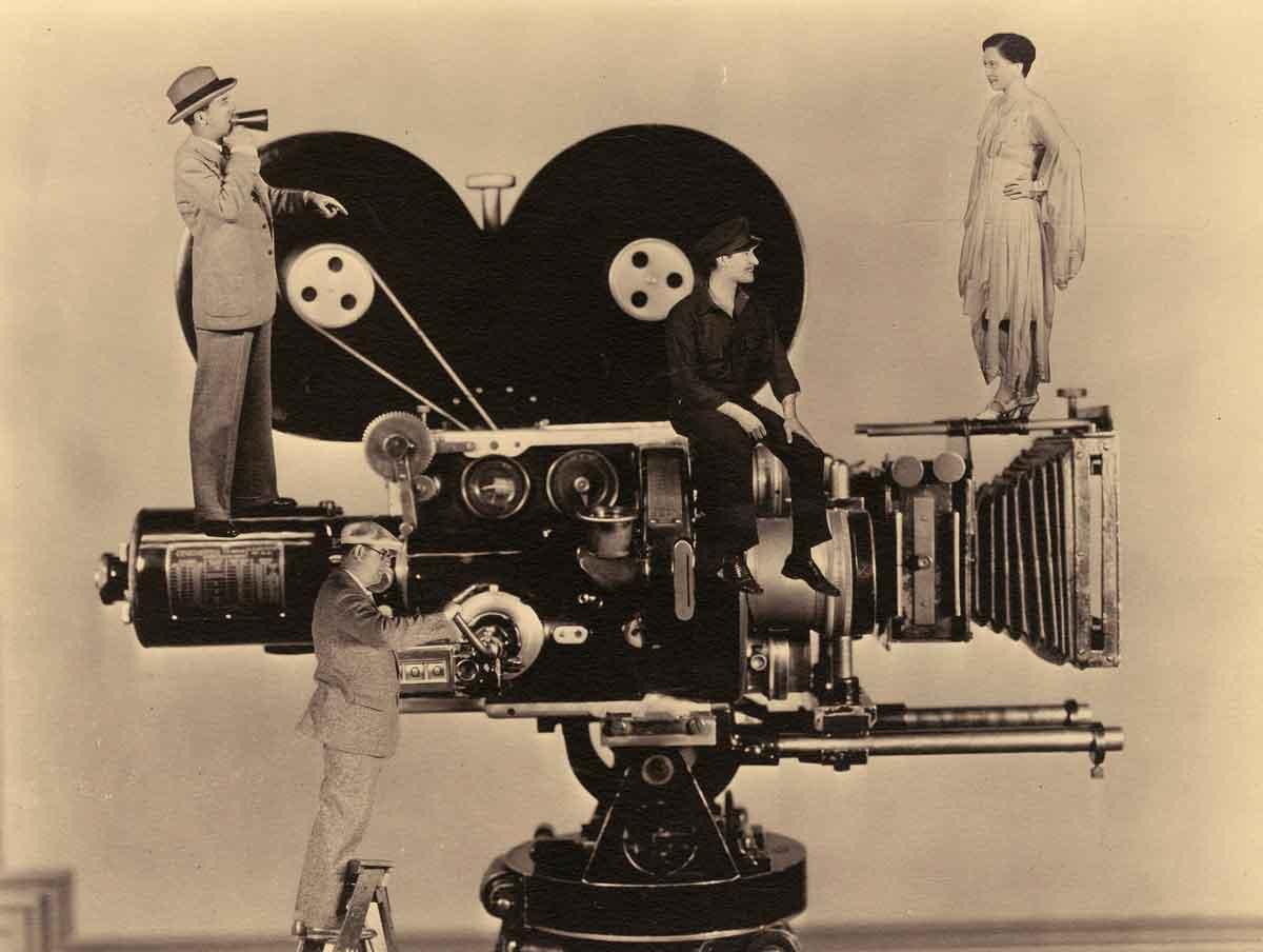 La transición del cine mudo a las películas sonoras