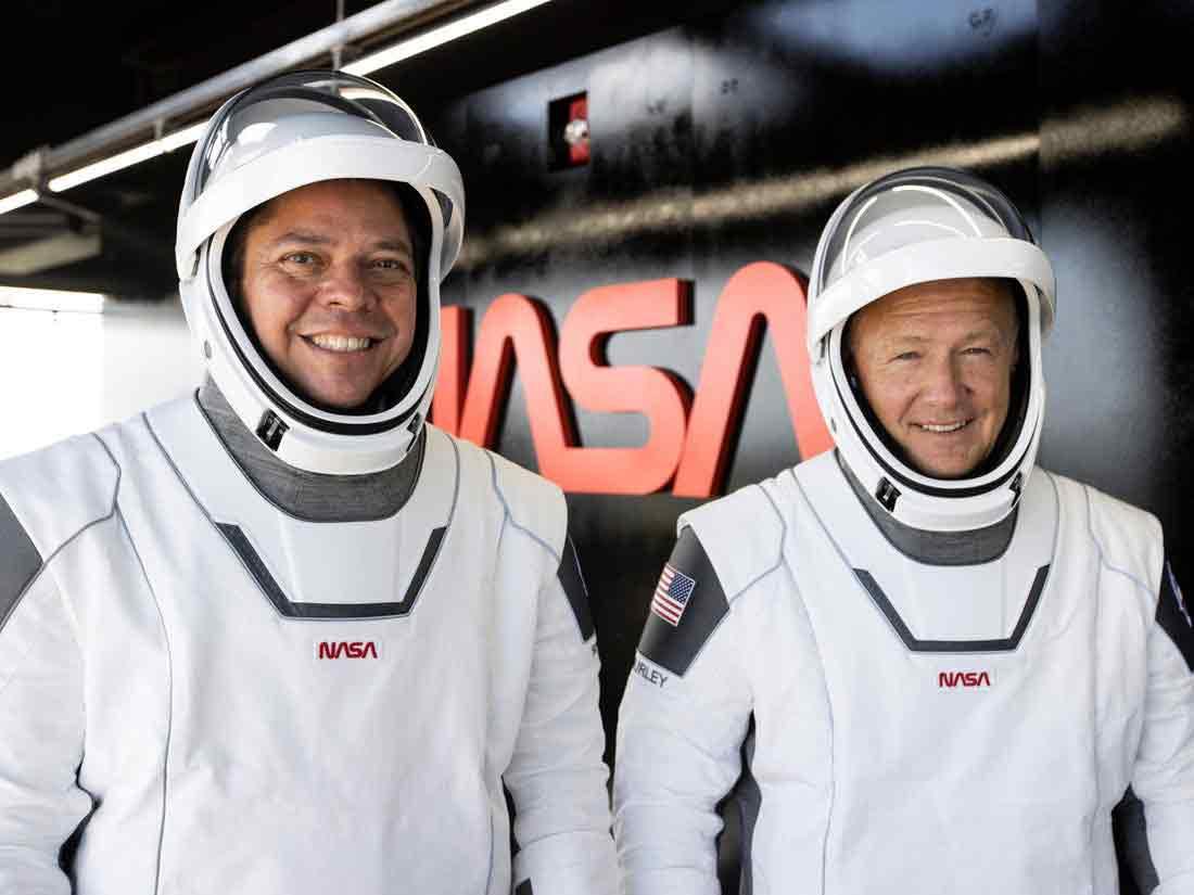 Trajes espaciales de SpaceX