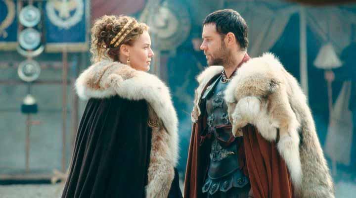 Maximus y Lucila al reencontrarse después de un tiempo