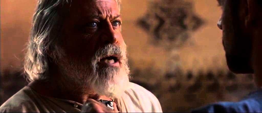 Próximo y Maximus, hablando sobre la libertad de los esclavos
