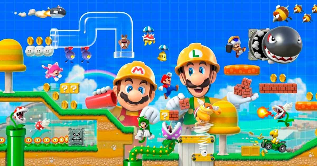 Super Mario Maker, cuando los jugadores crean su propio juego