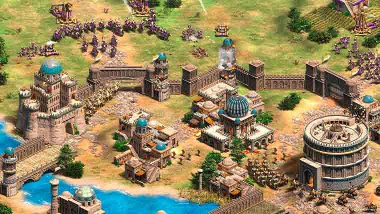 Pantalla de AEO II: The Age of Kings
