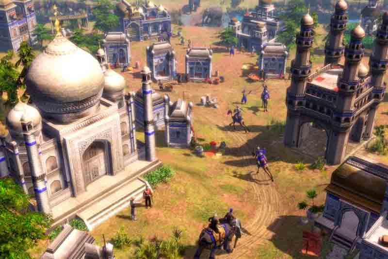 Pantalla de Age of Empires III: Definitive Edition
