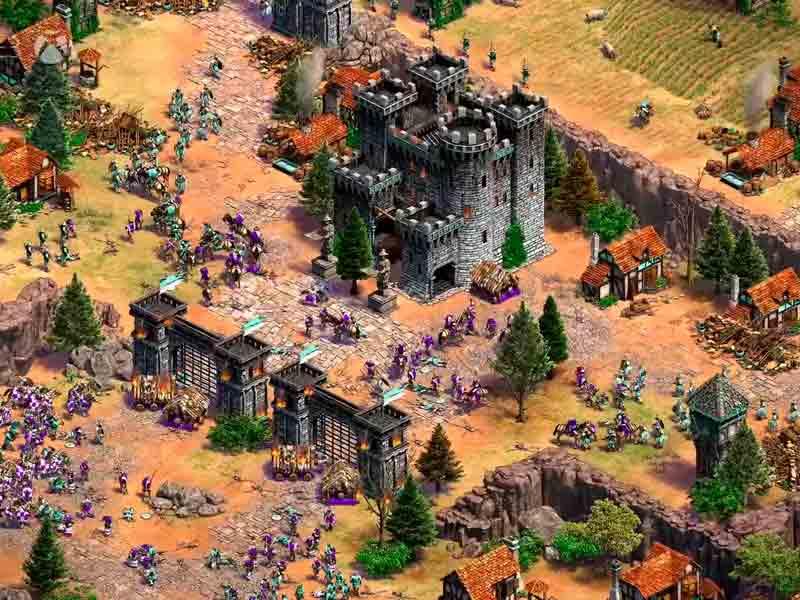Pantalla de Age of Empires