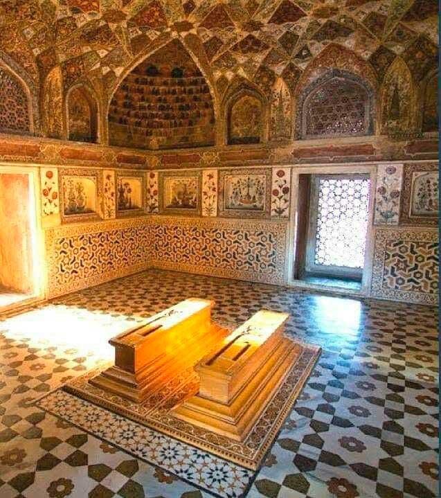 Interiores del mausoleo