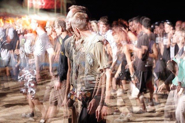 Fobia a las multitudes