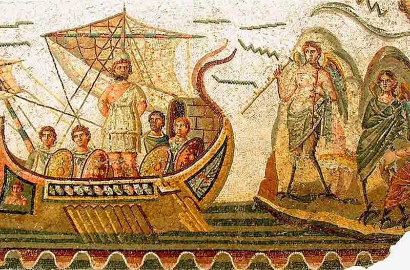 Ilustración de La Odisea