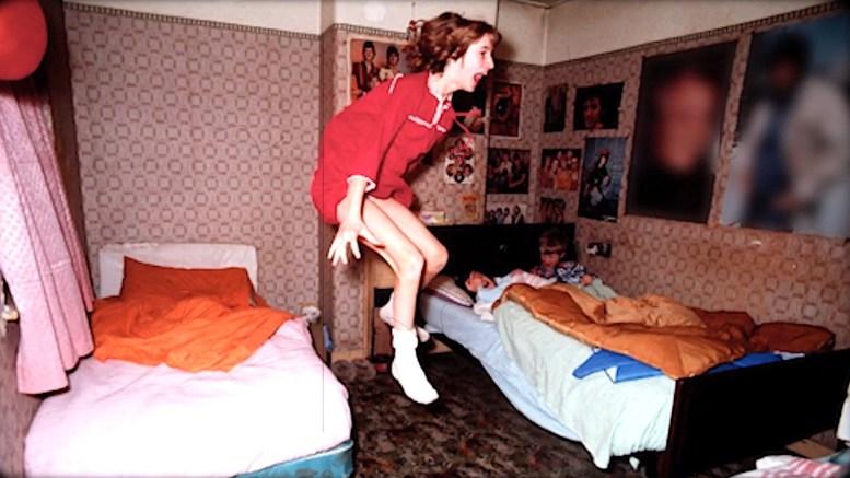 Fotografía de Janet durante uno de los supuestos fenómenos