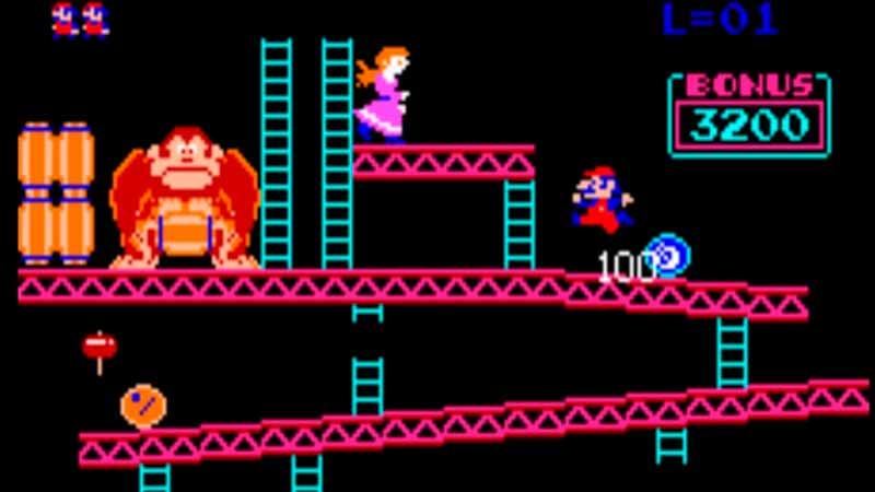 Jumpman en Donkey Kong