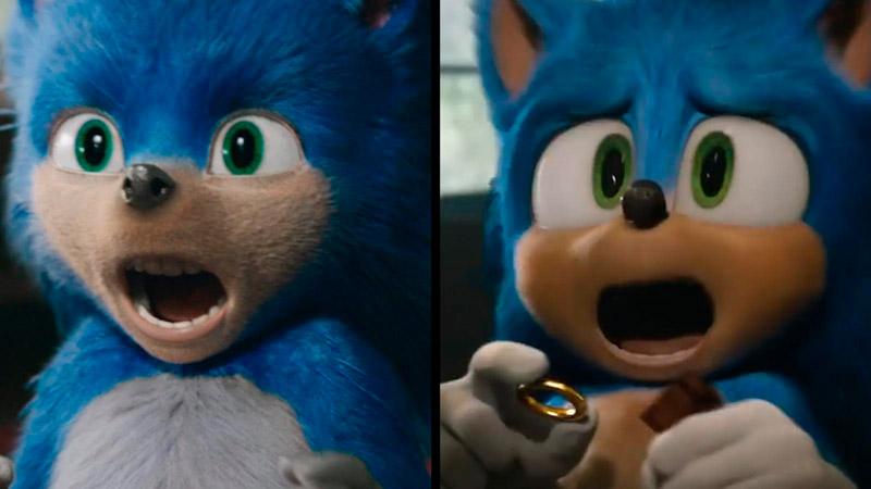 El antes y después del personaje en Sonic, la película