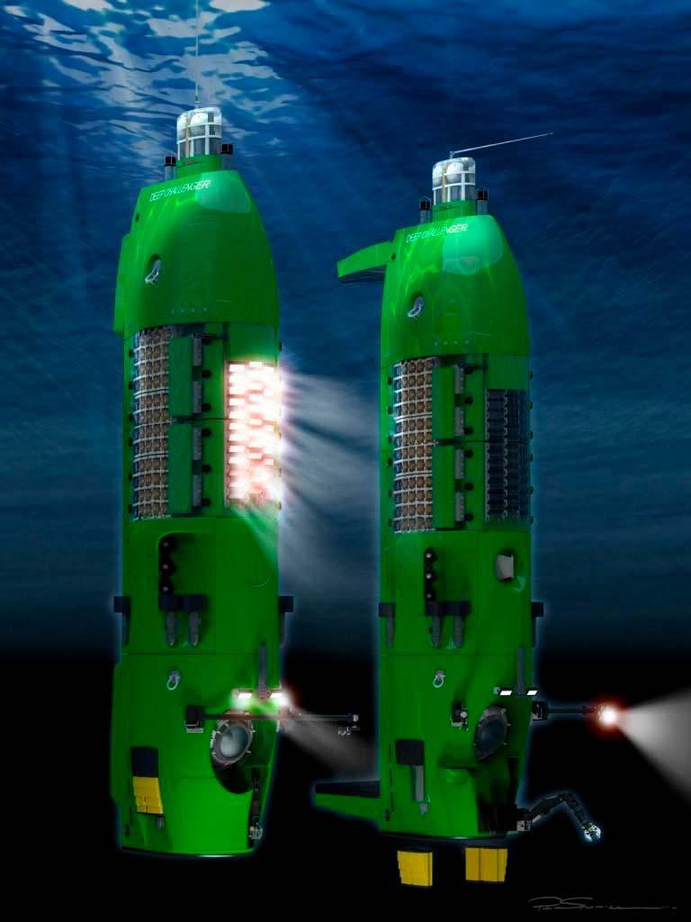 Submarinos empleados por James Cameron