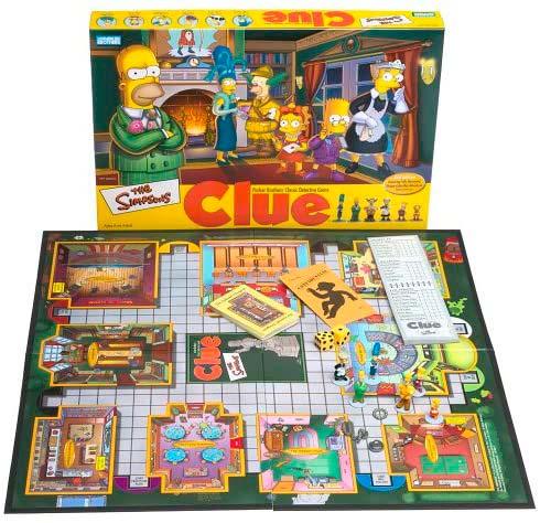 Edición especial de Los Simpson de Clue