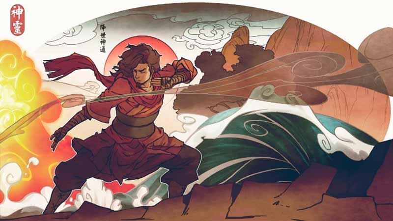 Ilustración de Avatar Wan, el primero