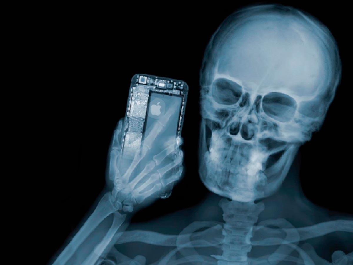 El descubrimiento espontáneo de los rayos X