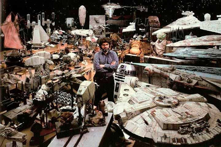 George Lucas en Industrial Light & Magic