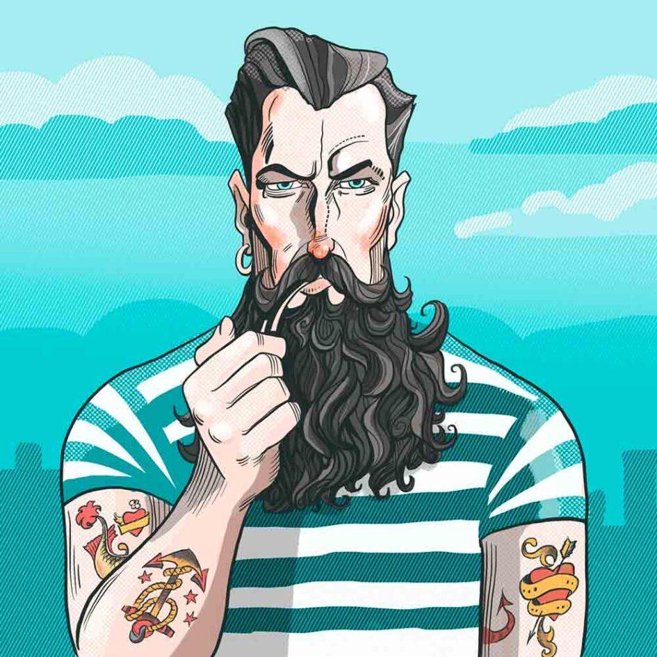 La simbología de los tatuajes marineros