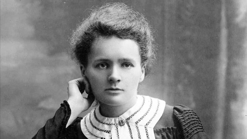 Marie Curie en la juventud