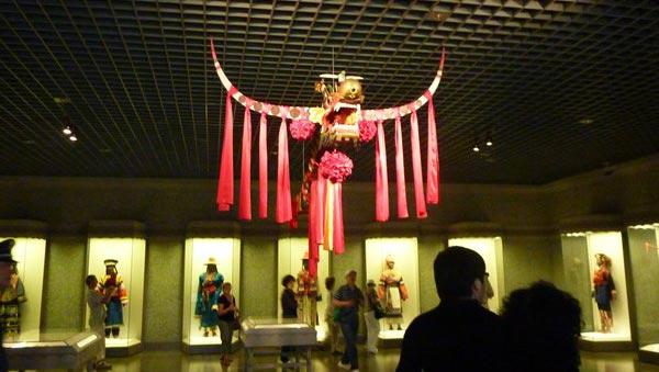 Exposición de la piñata tradicional china