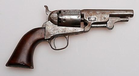 Primer revólver Colt