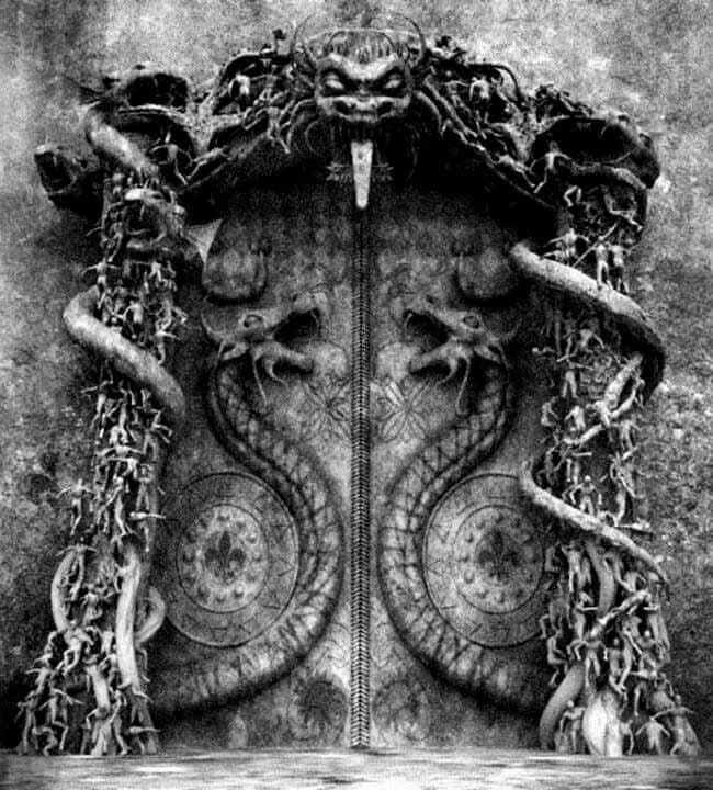 Puerta de la Bóveda B del templo