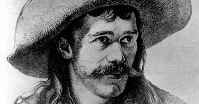 Retrato de Jesse James
