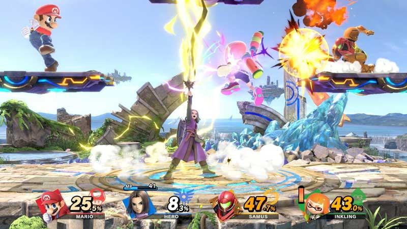 Pantalla de Super Smash Bros. Ultimate