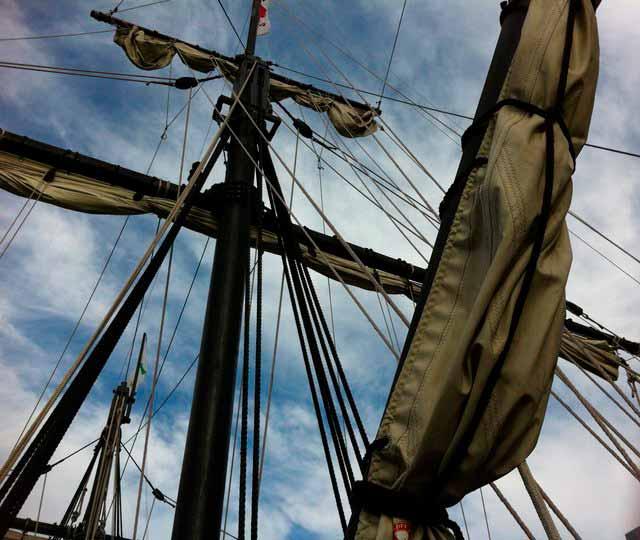 Supersticiones en la construcción del barco