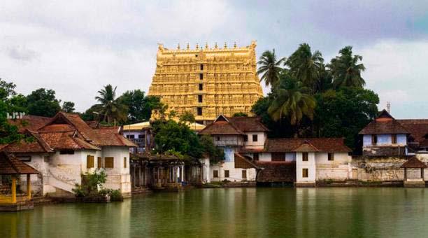 El templo de Sree Padmanabhaswamy