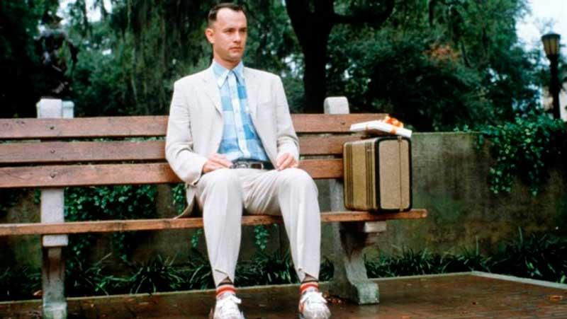 Escena de Forrest Gump