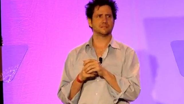 Jamie Kennedy en su desafortunado discurso en el E3 de 2007