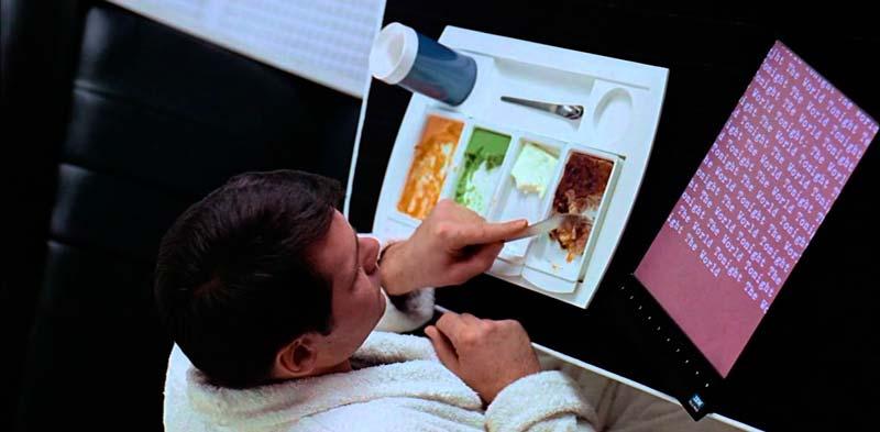 Las tablets en 2001: A Space Odyssey