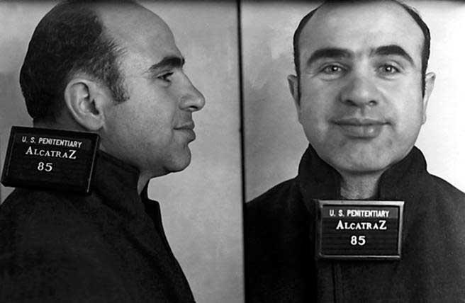 Al Capone en Alcatraz