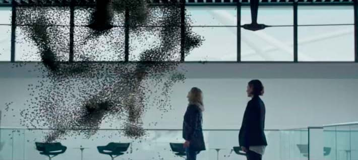 Los drones abeja en Black Mirror