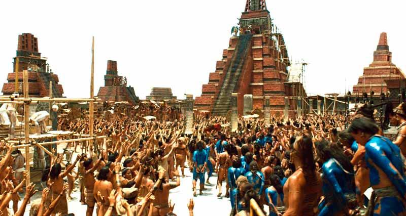La ciudad maya mostrada en Apocalypto