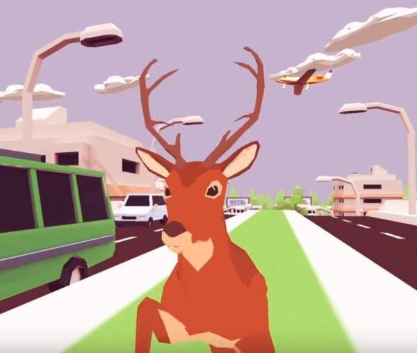 DEEEER Simulator, el divertido y absurdo videojuego del ciervo asesino