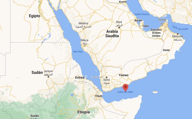 El Golfo de Adén