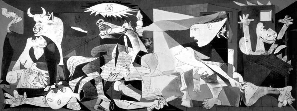 El Guernica de Picasso, una visión cubista de la Guerra Civil española