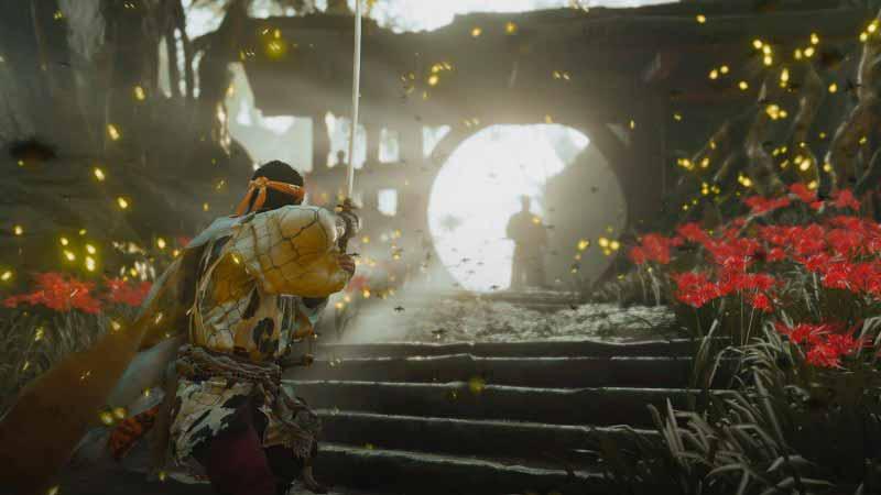 Escena del videojuego Ghost of Tsushima