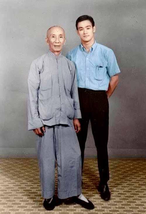 Ip Man y Bruce Lee