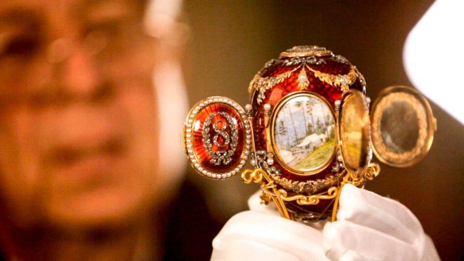 Los Huevos de Fabergé, el joyero personal de la familia Romanov