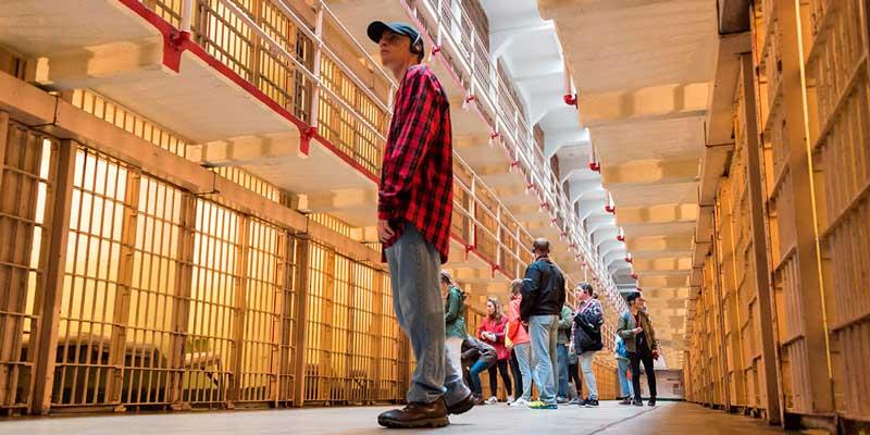 Visita guiada a las instalaciones de Alcatraz