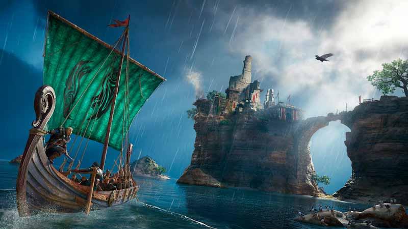 Escena del trailer del videojuego