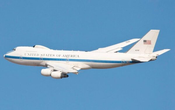 El llamado Avión del Juicio Final de los Estados Unidos