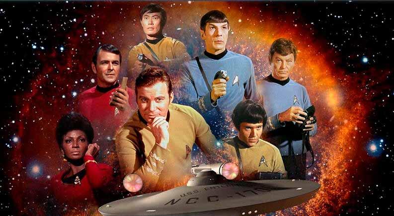 Imagen de la serie original de Star Trek