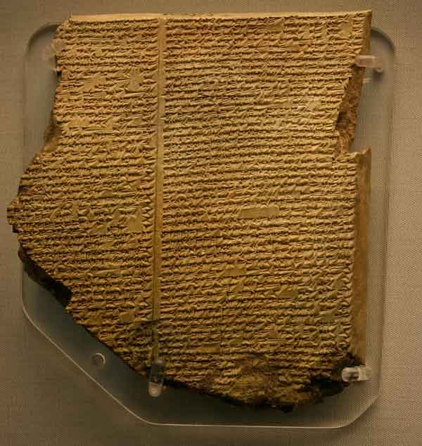 La tablilla sumeria