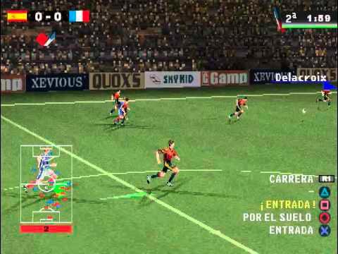 Pantalla del videojuego Libero Grande de 1998