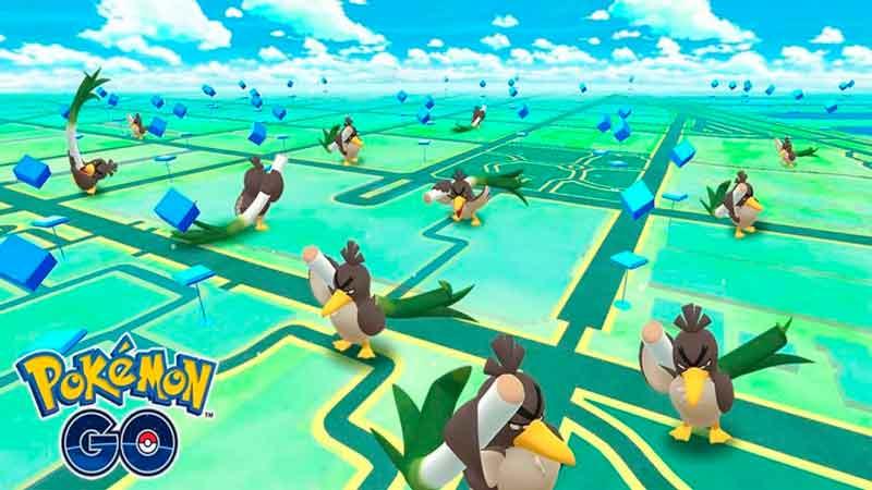 El mapa de Pokémon Go