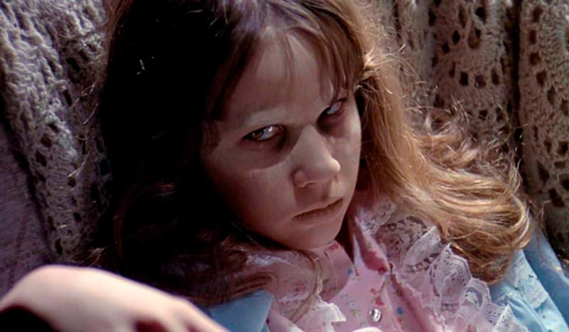 Linda Blair en The Exorcist