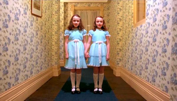 Louise y Lisa Burns en The Shining