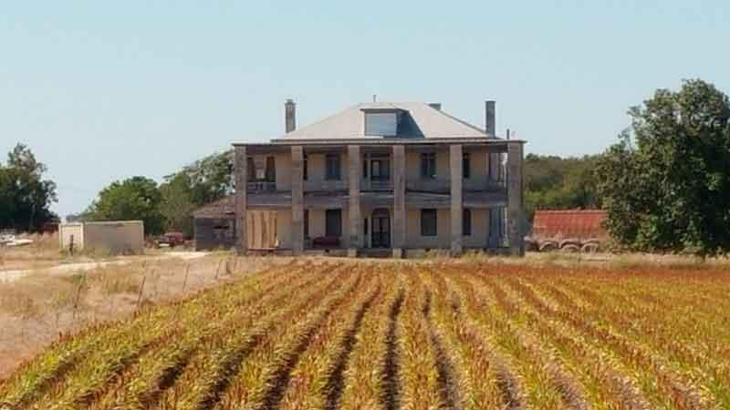 Reproducción de la granja de la familia Gein para La masacre de Texas